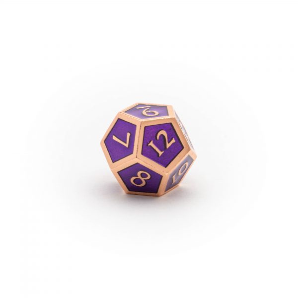 D12 Amethyst Copper