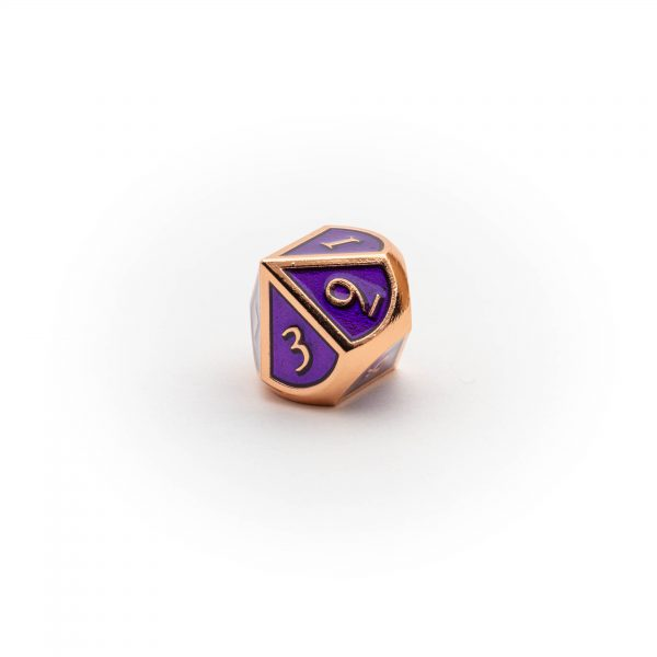 D10 Amethyst Copper