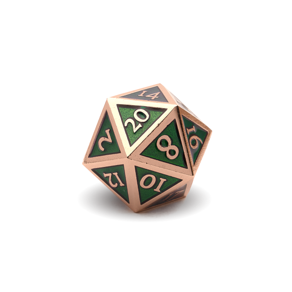 D20 - Emerald Copper